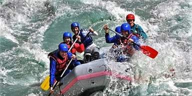Firmenevents Loisach Rafting Touren