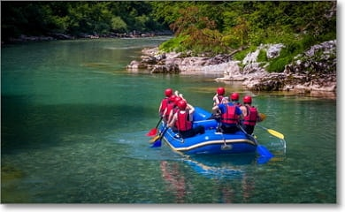 Tolle Rafting Tour