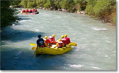 Teamevent Rafting
